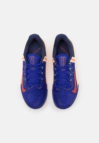 Nike Performance - METCON 6 - Gym- & träningskor - concord/team orange/crimson tint/lime glow/blackened blue/crimson bliss - 3