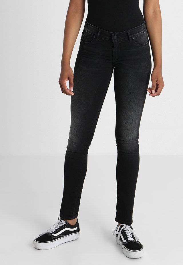 LOKAH - Slim fit jeans - black denim