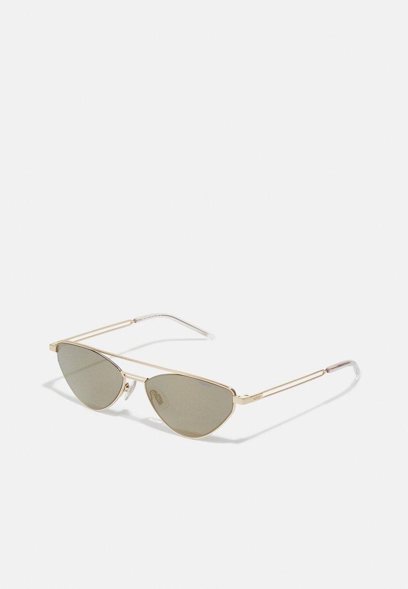 HUGO - UNISEX - Sluneční brýle - gold-coloured