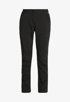 FENTON - Spodnie materiałowe - black