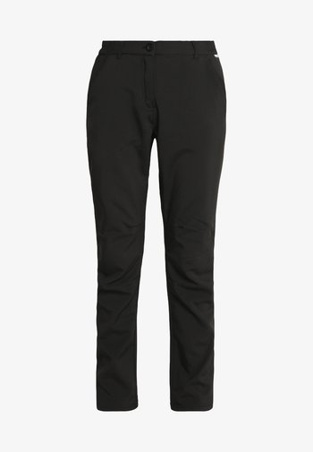 FENTON - Trousers - black