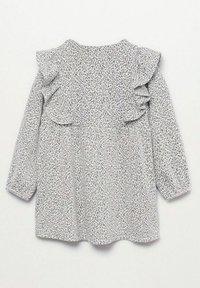 Mango - Gebreide jurk - grey - 1