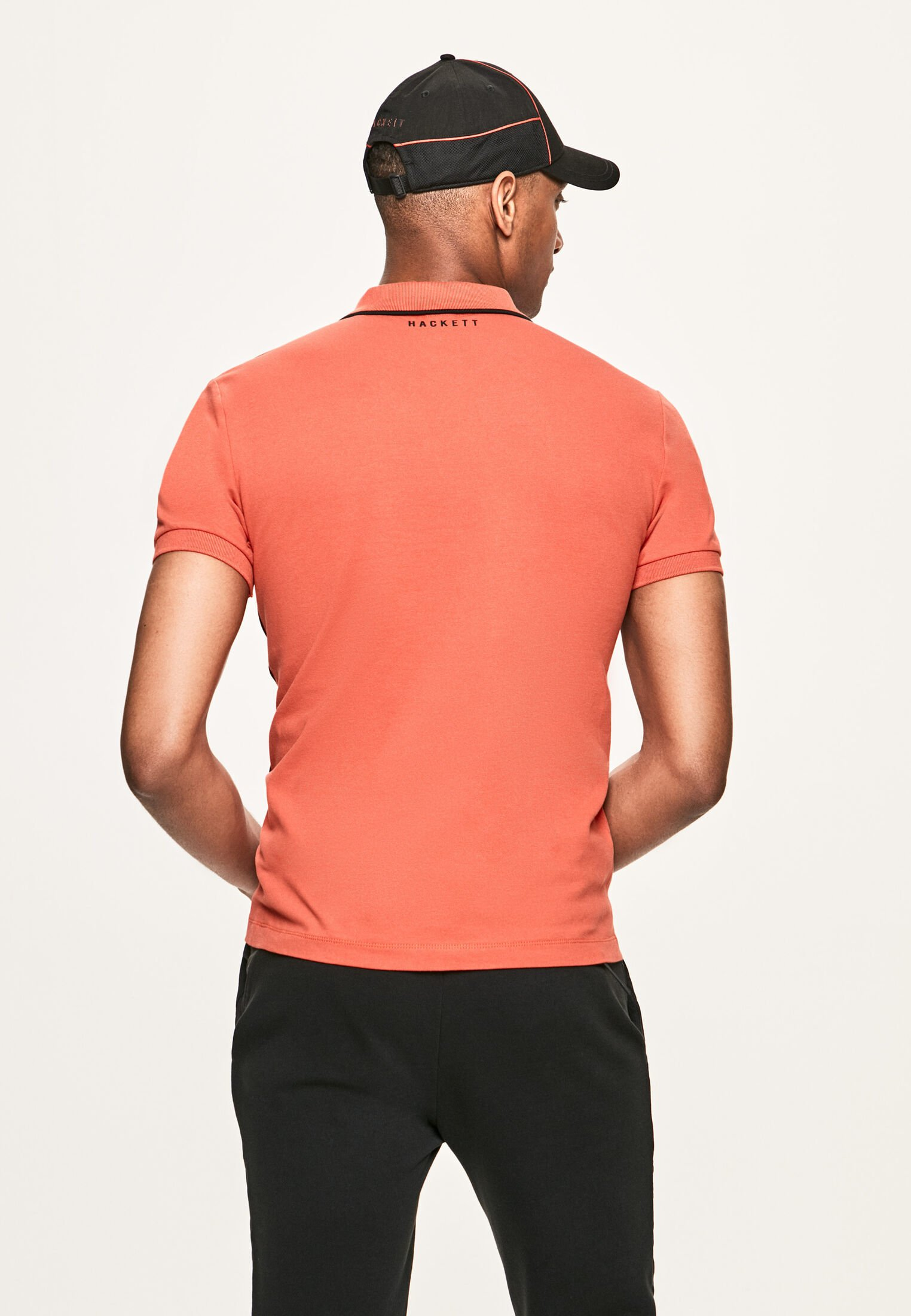Hackett London Polo shirt - burnt orange f7Xci