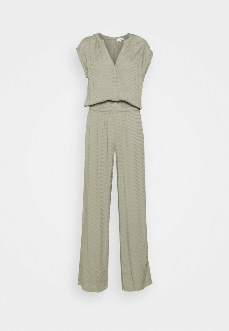 s.Oliver - OVERALL LANG - Jumpsuit - khaki