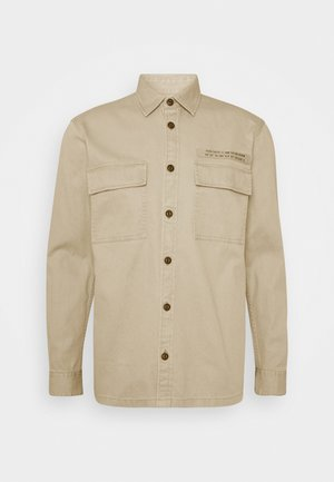 OVERSHIRT - Summer jacket - smoked beige