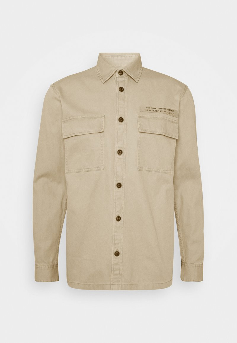 TOM TAILOR DENIM - OVERSHIRT - Lehká bunda - smoked beige