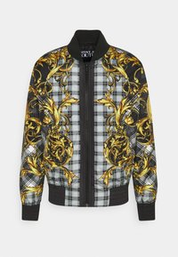 Versace Jeans Couture - TARTAN BAROQUE - Bomber Jacket - grigio/oro - 0