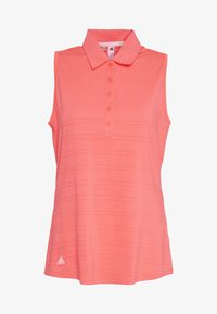 adidas Golf - MICRODOT SLEEVELESS - Polotričko - flash red - 4