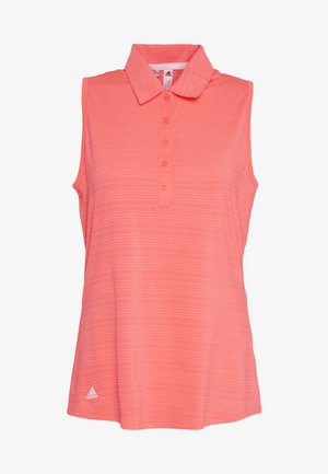 MICRODOT SLEEVELESS - Polo shirt - flash red