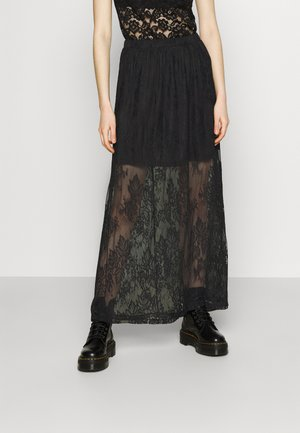 VIKAMPA FESTIVAL MEDI SKIRT - Gonna lunga - black
