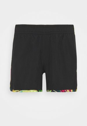 FLORAL - Sports shorts - black