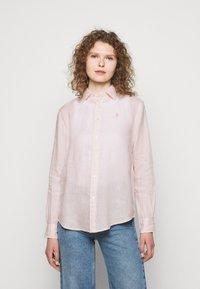 Polo Ralph Lauren - PIECE DYE - Button-down blouse - hint of pink - 0