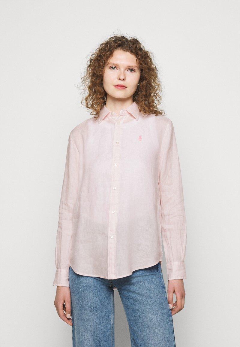 Polo Ralph Lauren - PIECE DYE - Button-down blouse - hint of pink