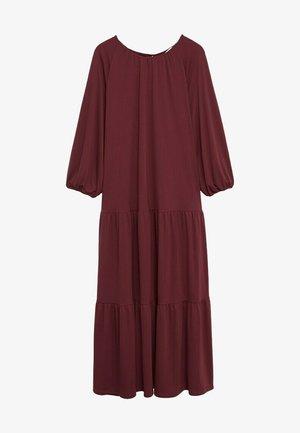 Vestido informal - granatrot