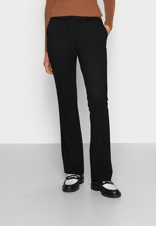 TANNY FLARE PANTS - Trousers - black