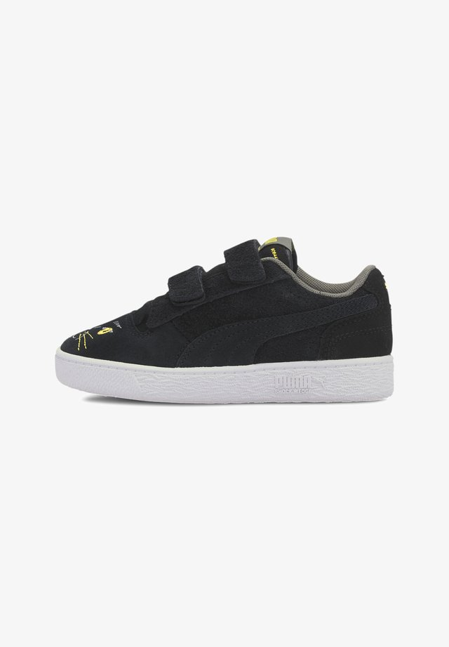 RALPH SAMPSON ANIMALS - Sneaker low - puma black-super lemon
