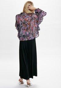 InWear - HILMA - Button-down blouse - purple flowers - 4