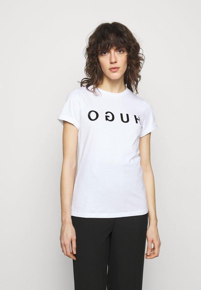 THE TEE - T-shirt print - white