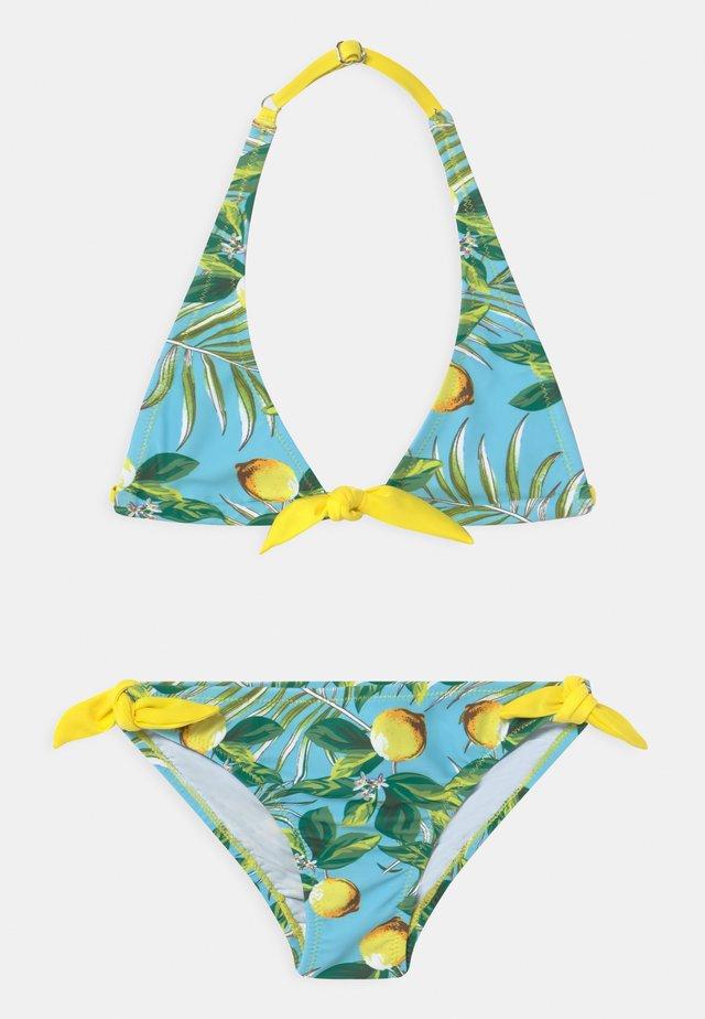 GIRLS TRIANGLE SET - Bikini - lemon
