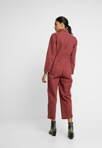 Madewell - HOLIDAY COVERALL - Jumpsuit - rusted burgundy - 2