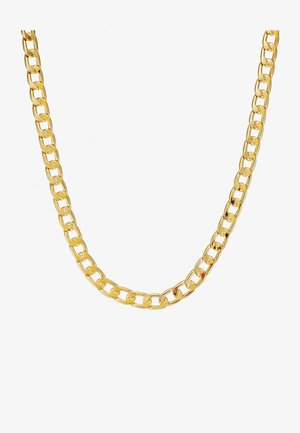 CHUNKY CHAIN NECKLACE - Halskæder - pale gold-coloured