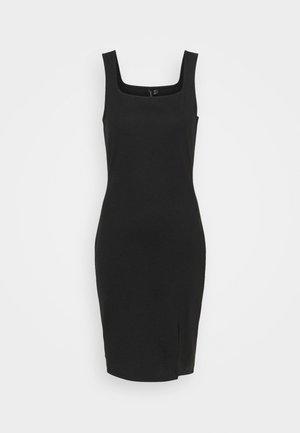 VMEDNA SHORT DRESS - Shift dress - black