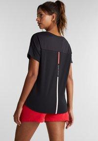Esprit Sports - Print T-shirt - black - 2
