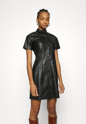 SEAM DRESS - Day dress - black