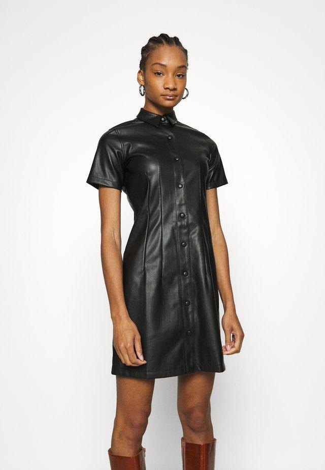 SEAM DRESS - Robe d'été - black