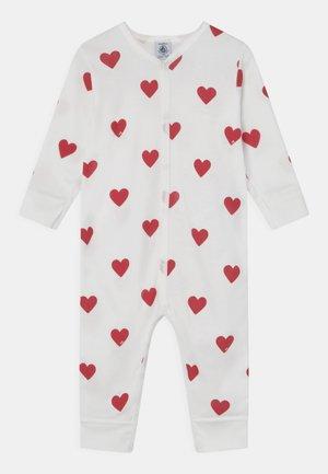 DORS BIEN SANS PIEDS - Pyjamas - marshmallow/terkuit