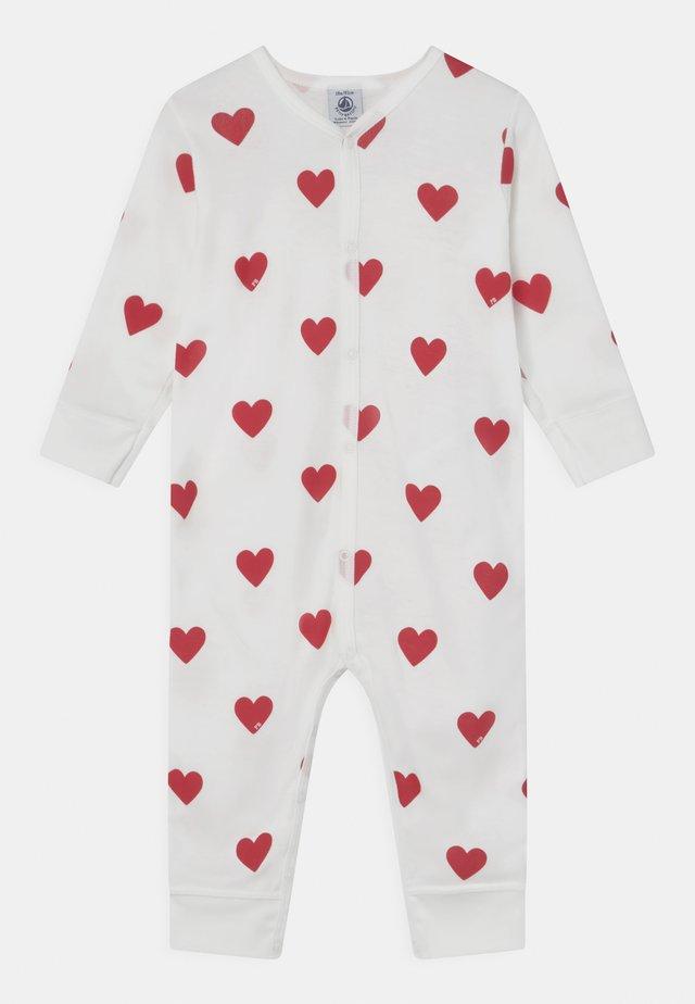 DORS BIEN SANS PIEDS - Pyjama - marshmallow/terkuit