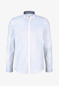 Shirt - white tonal dobby structure