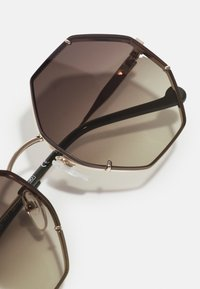 LIU JO - Sunglasses - shiny gold - 4
