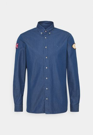 BADGE - Shirt - indigo