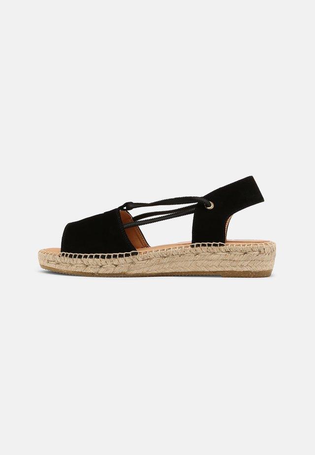 ADA - Sandalen met plateauzool - schwarz