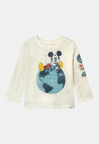 GAP - TODDLER BOY DISNEY MICKEY MOUSE GRAPHICS - Long sleeved top - new off white - 0