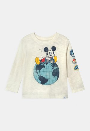 TODDLER BOY DISNEY MICKEY MOUSE GRAPHICS - Long sleeved top - new off white