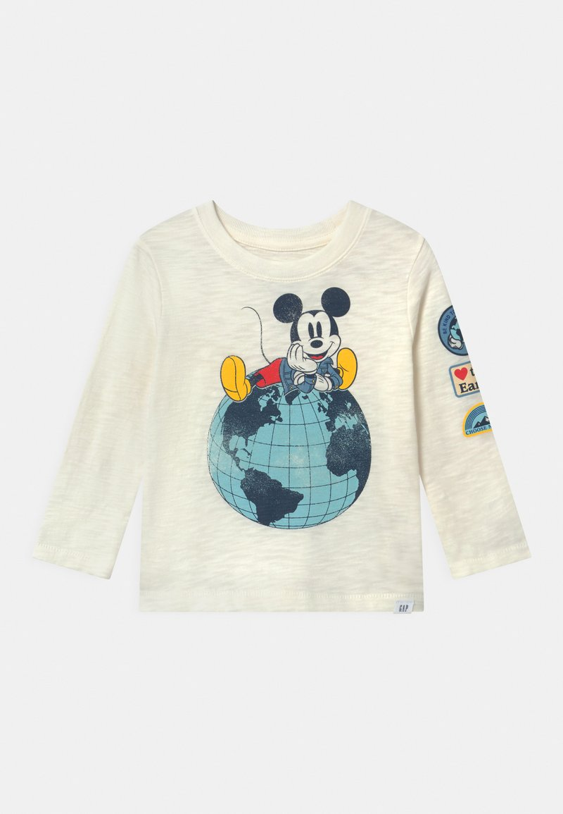 GAP - TODDLER BOY DISNEY MICKEY MOUSE GRAPHICS - Long sleeved top - new off white