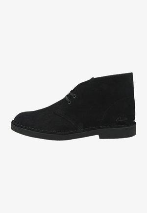 DESERT - Veterboots - black suede