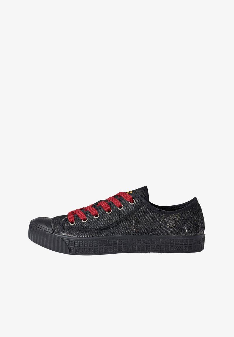 G-Star - ROVULC 50 YEARS DENIM LOW - Sneakers laag - black