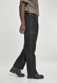 Brandit - VINTAGE - Cargo trousers - black - 4
