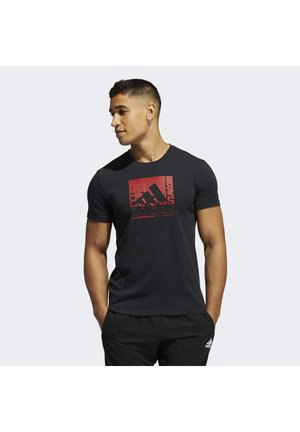 PRIME BLUE TRN - T-shirt con stampa - black