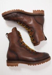 Giorgio 1958 - Lace-up ankle boots - ohio/castagno - 1