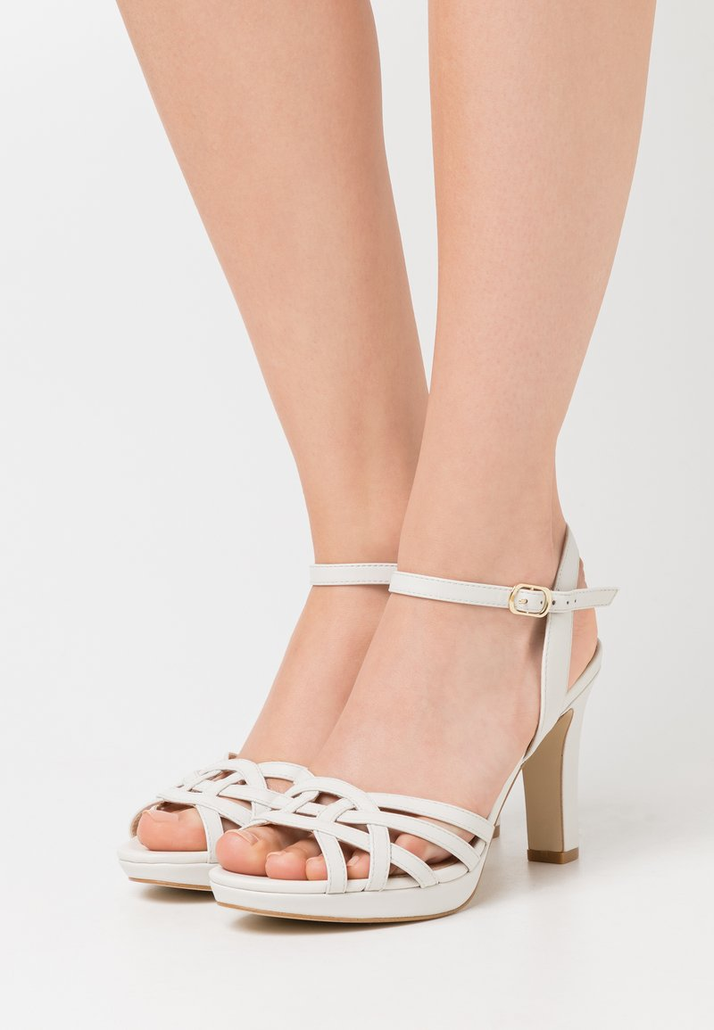 Anna Field - LEATHER - High heeled sandals - white