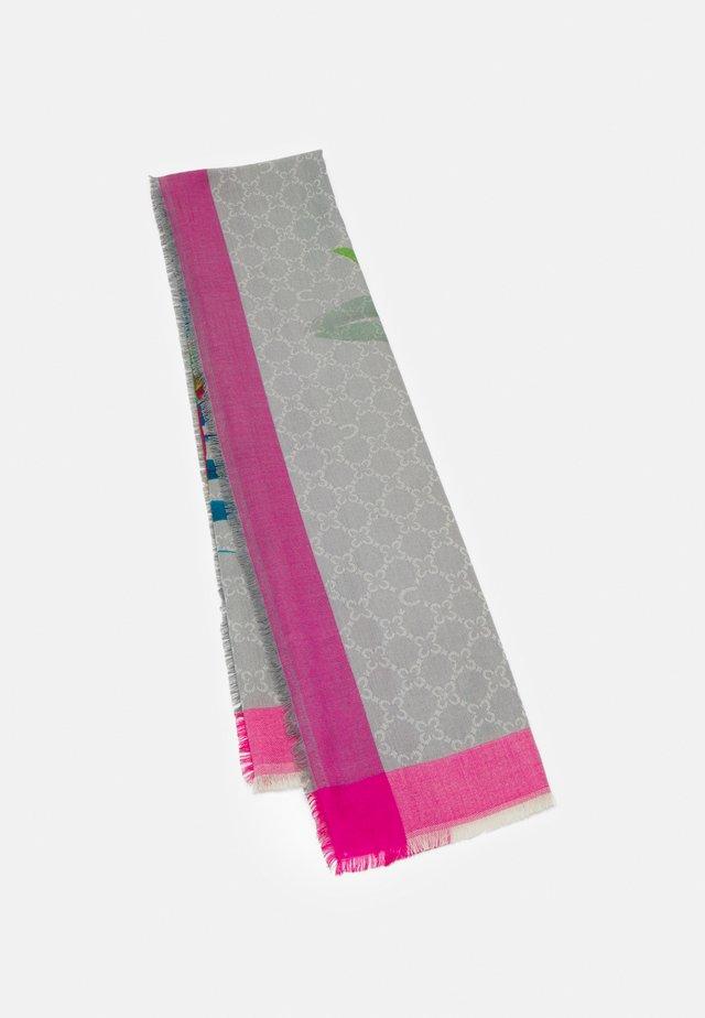 LOGO DIGITAL PRINT - Huivi - dark pink