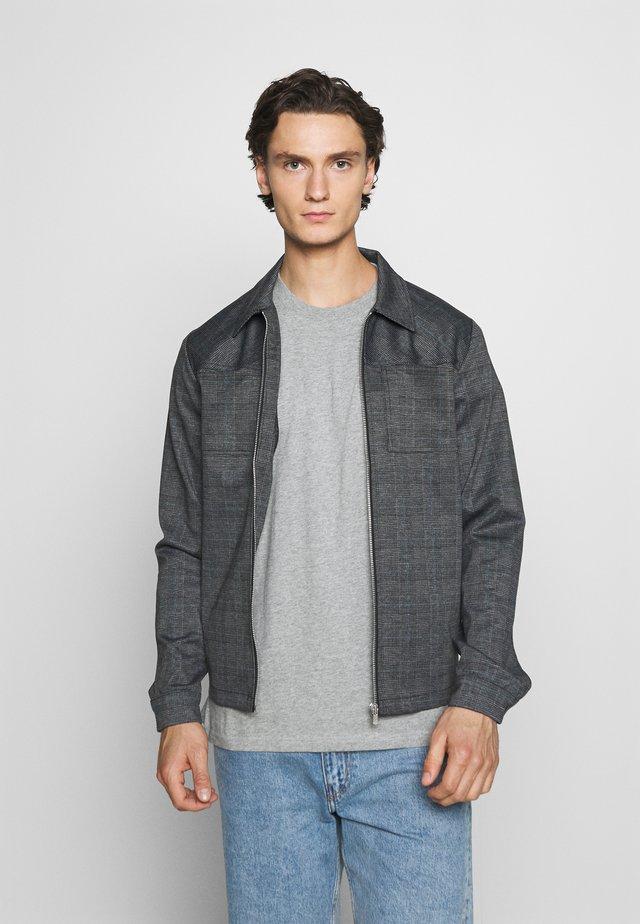 JPRBLAPHIL SWEAT - Lehká bunda - grey melange