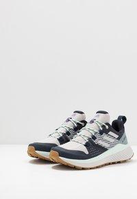 adidas Performance - TERREX FOLGIAN HIKER - Hiking shoes - legend ink/light solid grey/dash green - 2