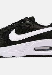 Nike Sportswear - AIR MAX UNISEX - Sneakers laag - black/white - 6