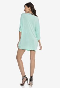 Cipo & Baxx - Jersey dress - mint - 2
