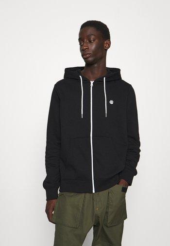 CORNELL CLASSIC - Zip-up sweatshirt - flint black